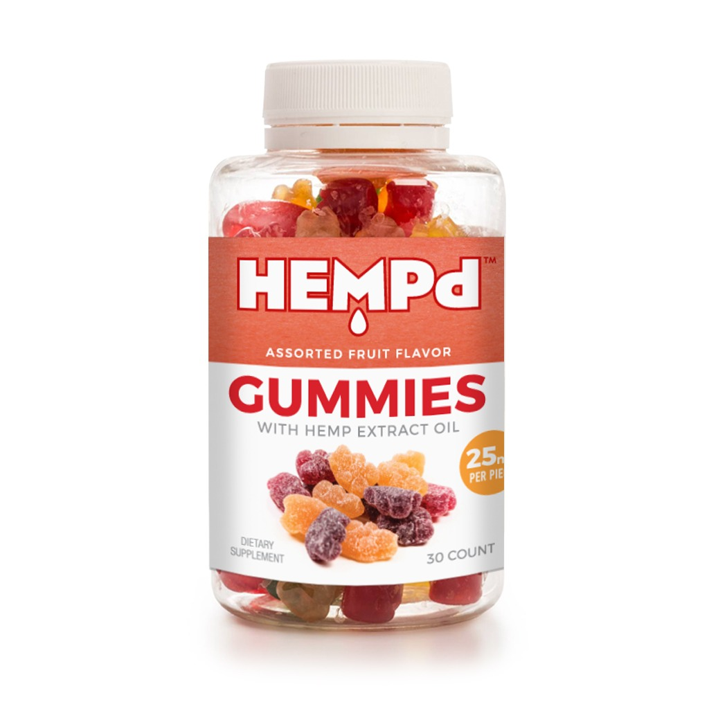Hemp extract oil gummies