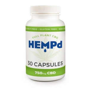 HEMPd Hemp Oil Extract Capsules