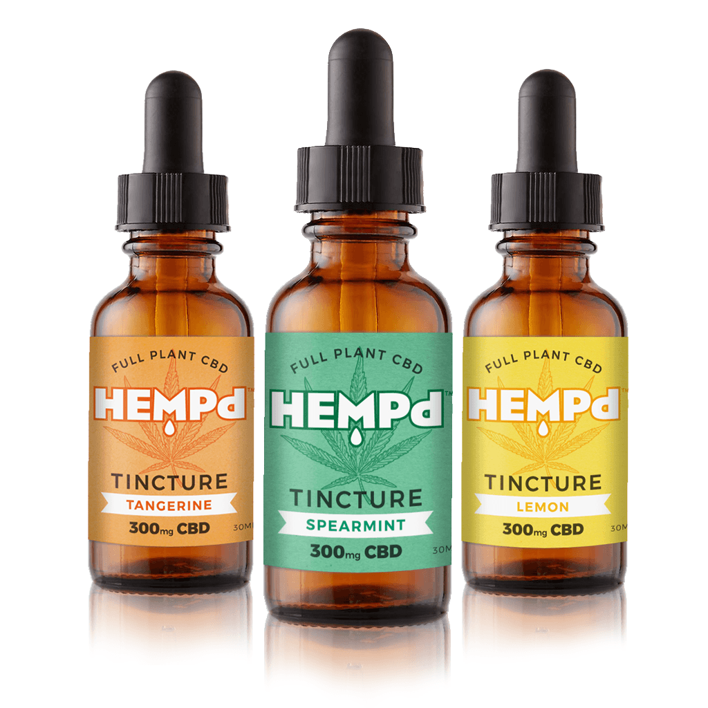 HEMPd Hemp Oil Extract Tinctures